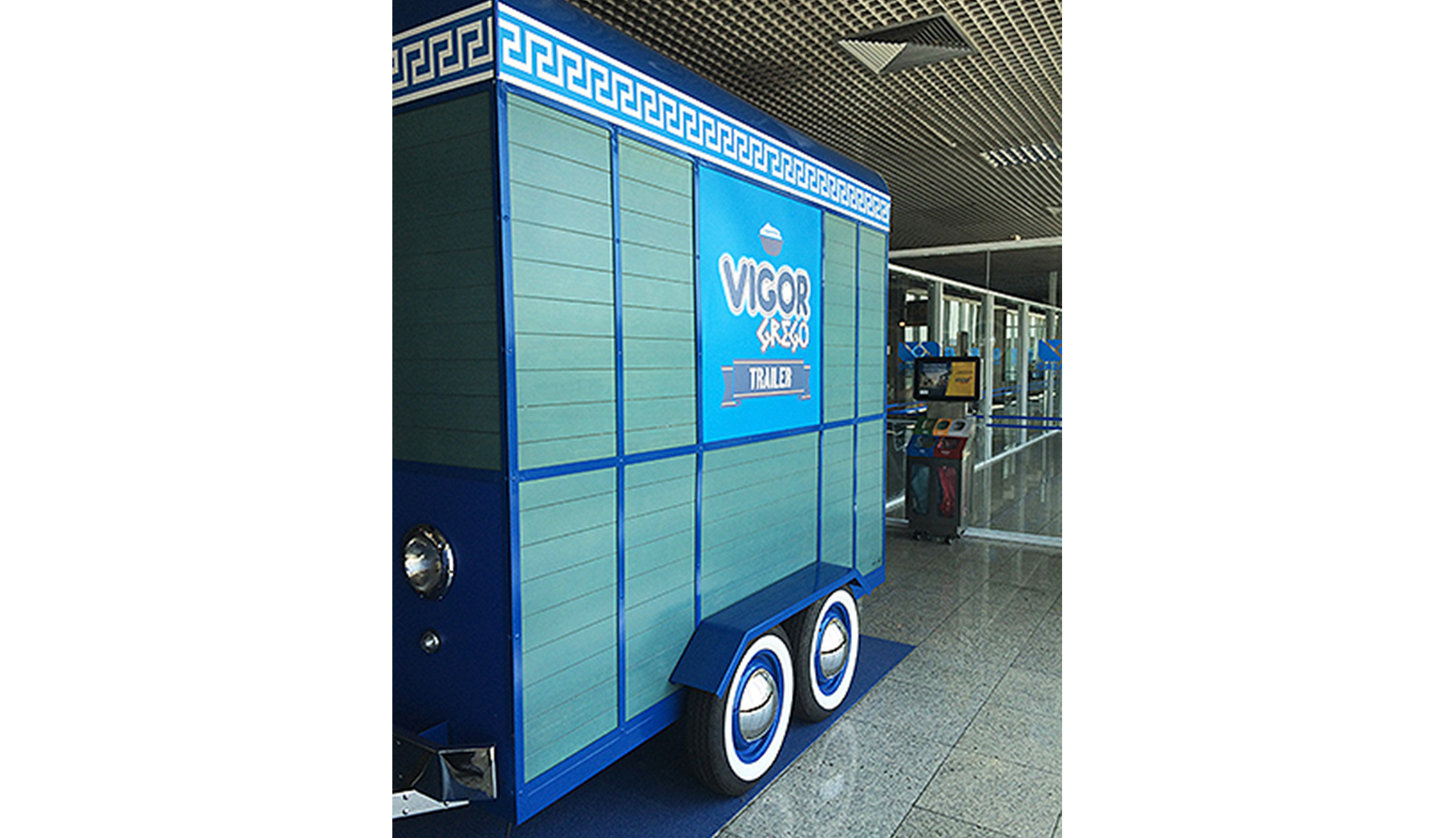 Quiosques para Shopping Trailer Vigor Grego
