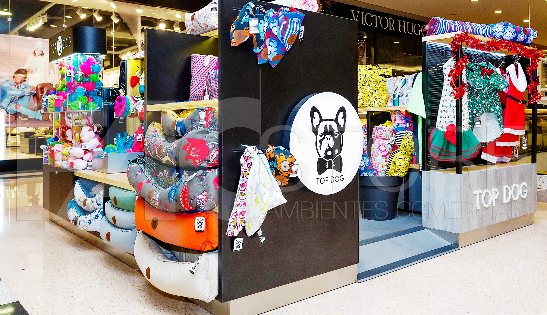Quiosque para Shopping Top Dog