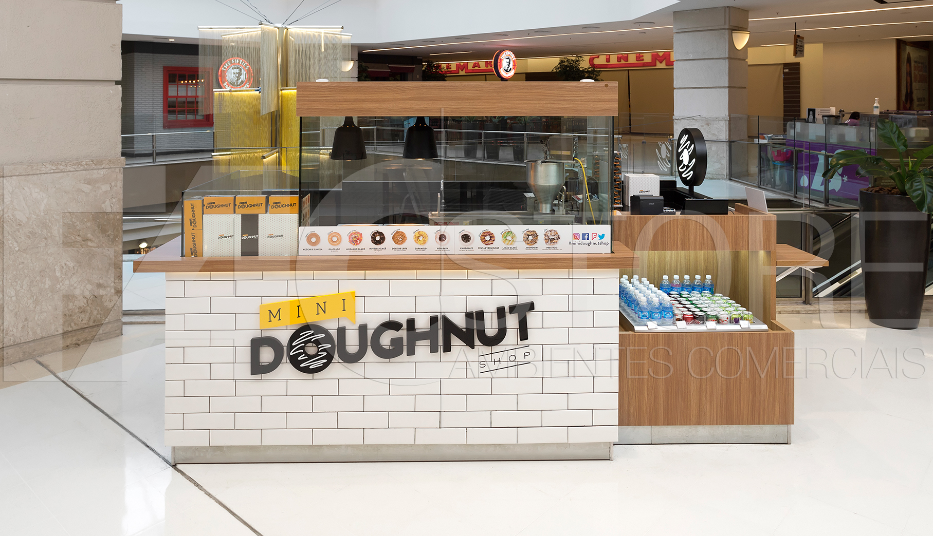 Quiosque para Shopping Mini Doughnut