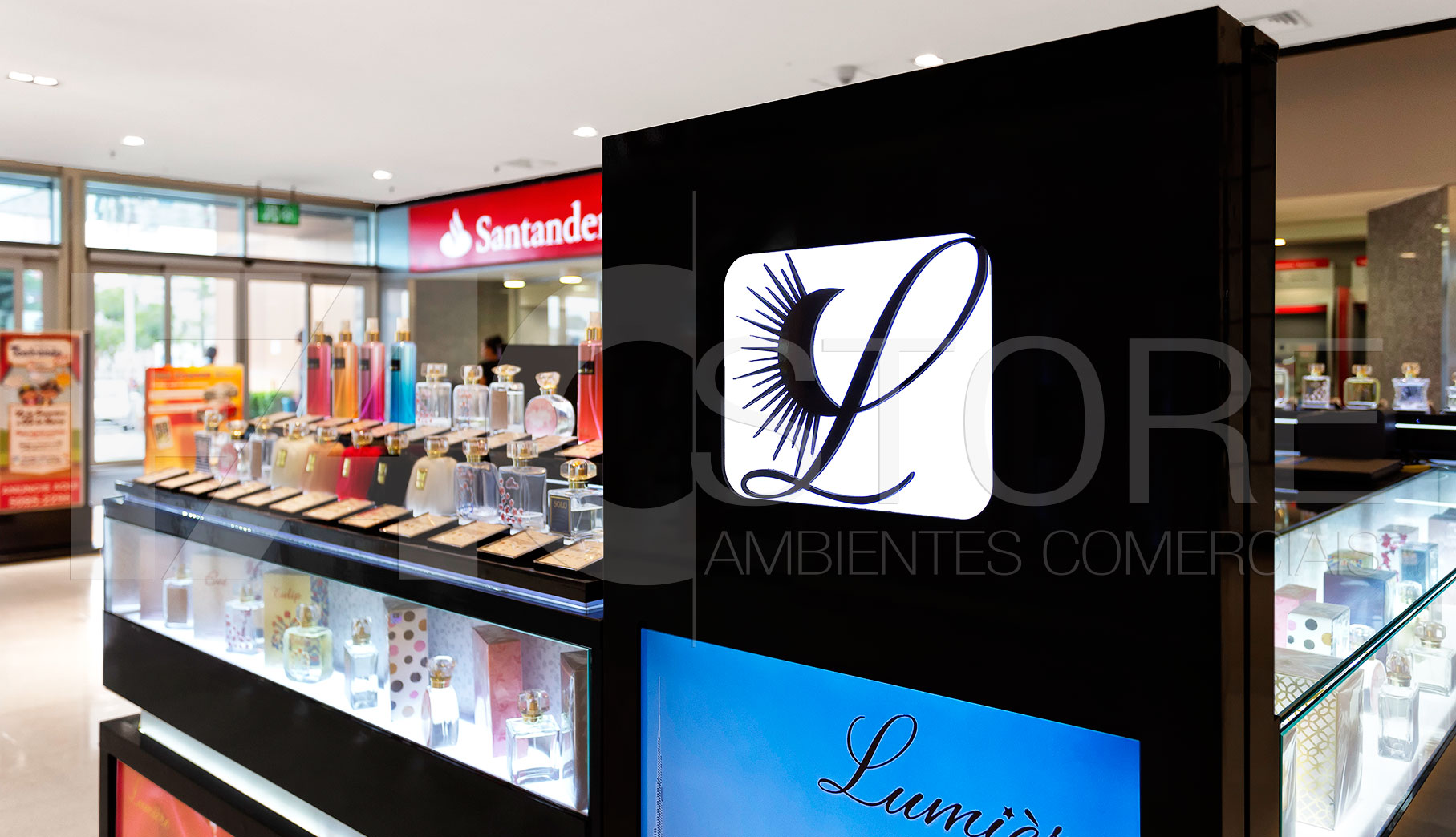 Quiosques para Shopping Lumiere