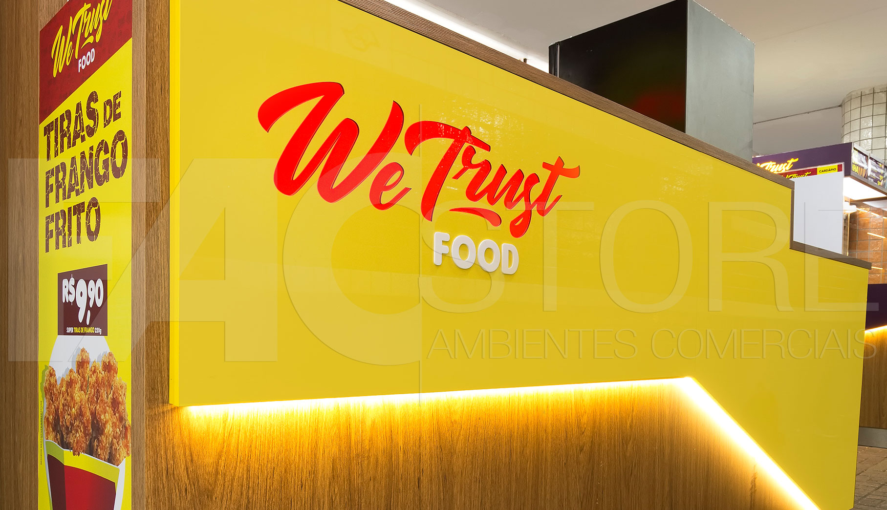 Quiosques para Shopping We Trust Food