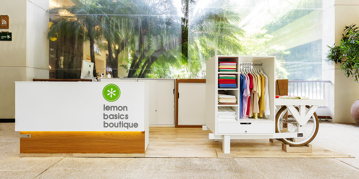 Quiosques para Shopping Lemon Basics