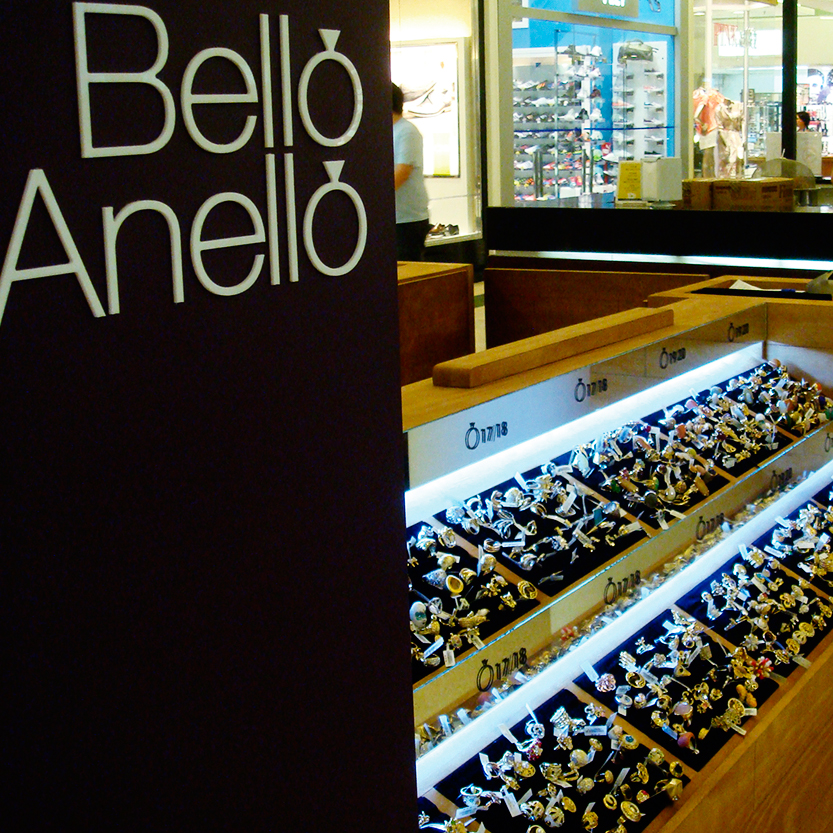 Quiosque para Shopping Bello Anello