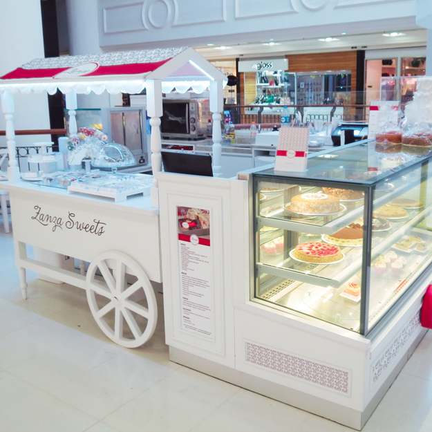 Quiosque para Shopping Zanza Sweets