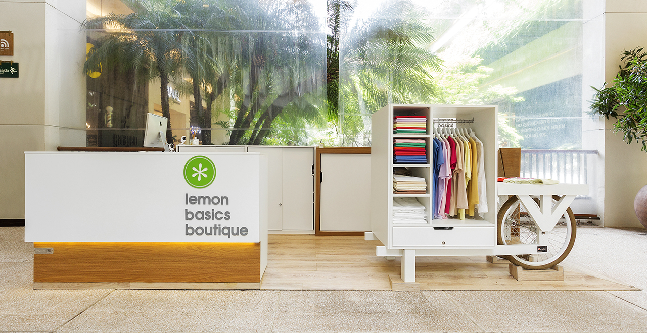 Quiosque para Shopping Lemon Basics