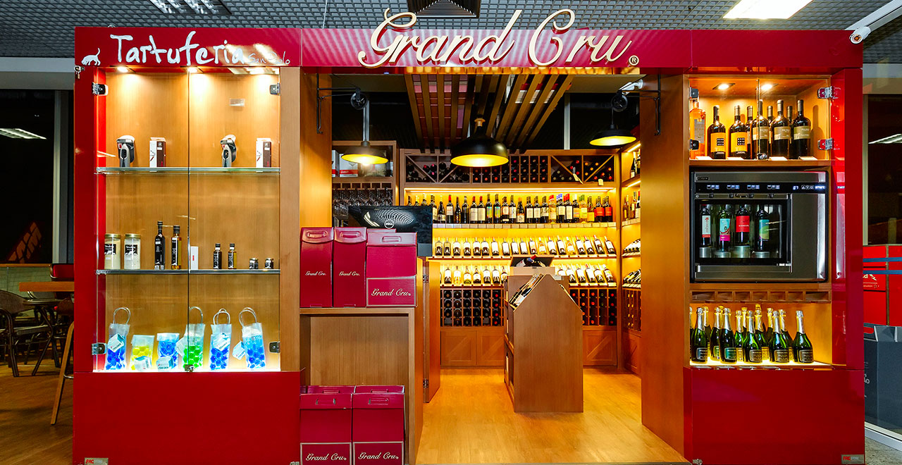 Quiosques para Shopping Grand Cru